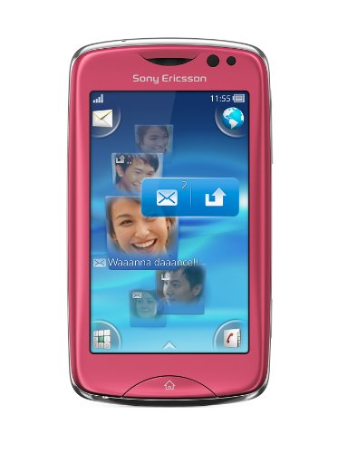 Sony Ericsson Txt Pro Smartphone (7,6 cm (3,0 Zoll) Display, Touchscreen, 3,15 Megapixel Kamera) pink