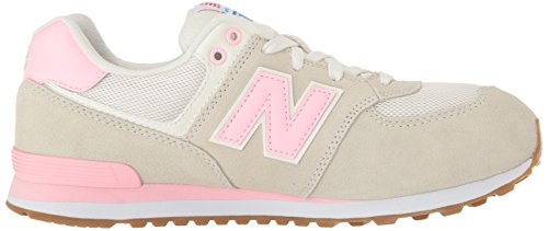 New Balance Unisex-Kinder Kl574wjp M Sneakers Grau