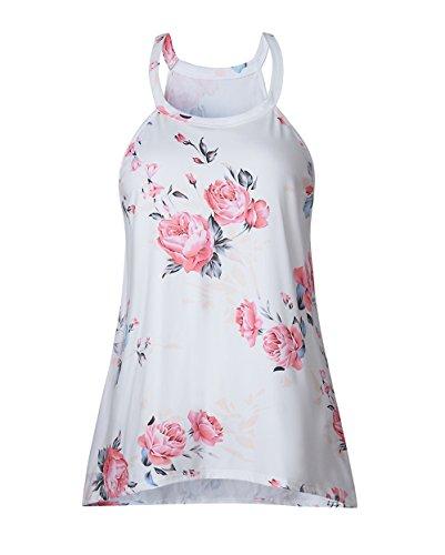 Yieune - Camicia -  donna Bianco 1