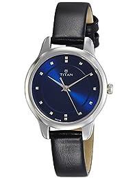 Titan Ladies Neo-Ii Analog Blue Dial Women's Watch-NK2481SL08
