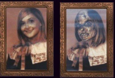 Cultica(R) Halloween Bild Verwandlungsbild Horror Galerie des Grauens 20
