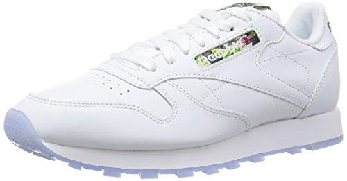 Reebok Cl Leather Sf, Scarpe da Corsa Uomo Bianco
