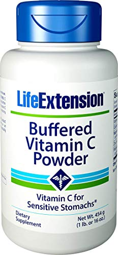 Life Extension - Buffered Vitamin C Powder, 454g