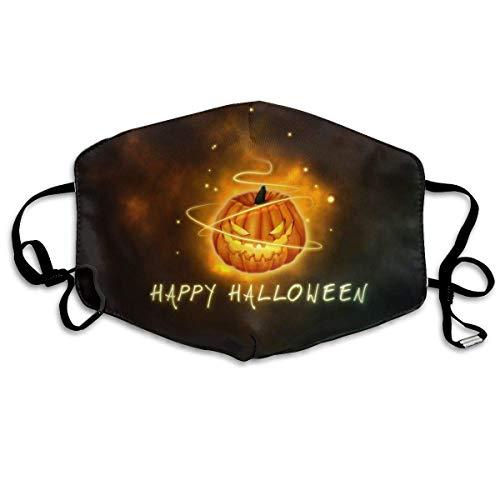 Cute Halloween Gesicht Malen - liang4268 Mundmasken Happy Halloween Pumpkin Antidust