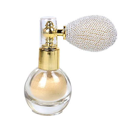 Spray polvo purpurina brillante resaltar aroma polvo