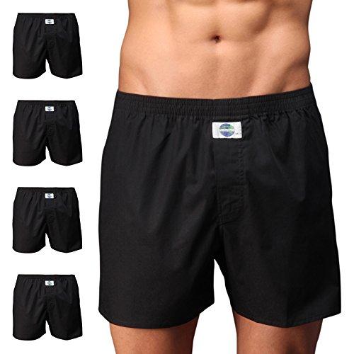 D.E.A.L International 5er-Set Boxershorts, schwarz Size L