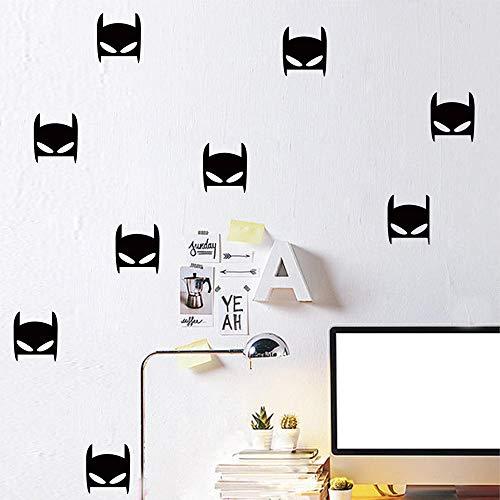 on Aufkleber Batman Aufkleber Halloween einfache Wandaufkleber Schlafzimmerdekoration ()