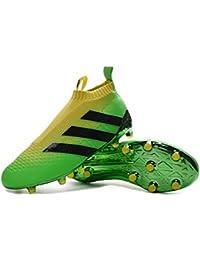 Andrew Adidas Ace16 Purecontrol - Botas de fútbol para hombre, tacos FG/AG, hombre, verde, 39
