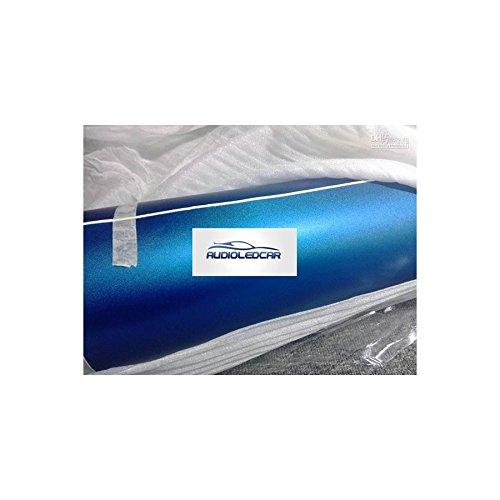 WrapWorkers Series Vinilo Azul Metalizado - 25x152cm