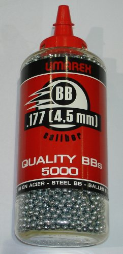 Umarex Stahlrundkugeln 5000 Stück 4,5 mm BB`s