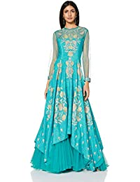 RI by Ritu Kumar Women's A-Line Maxi Dress