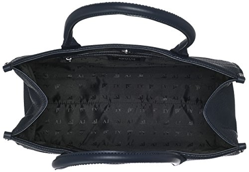 Armani - Borsa Shopping, Borse a secchiello Donna Blu (Dark Navy)