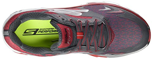 Skechers Go Run Forza, Chaussures Multisport Outdoor Homme Gris (Ccrd)