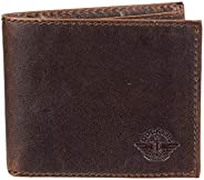 Dockers Mens Wallet, Card Case & Money Organizer, Brown, 13 31DK24