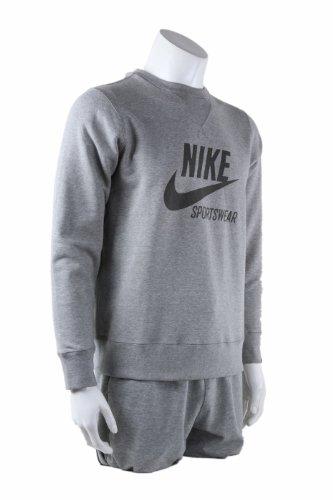 Nike Dual Fusion X 2 (Gs), Chaussures D'entraînement Garçon Stealth/Black-White-Total Orange