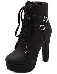 42a72661 Amazon.es: Cordones - Botas / Zapatos para mujer: Zapatos y complementos