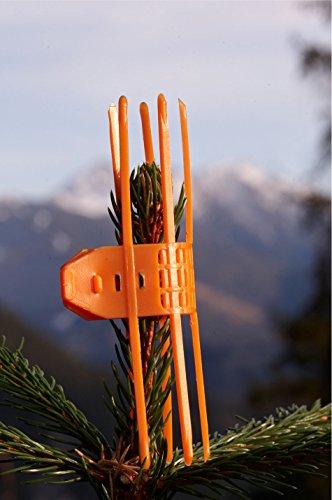 Verbissschutz Manschette TS-Holz gegen Wildverbiss orange 1000 Stück