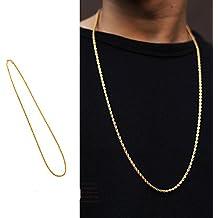 Thick 18K placcatura in oro di alta qualità Nuovo Onda il giapponese gli uomini e le donne lavorare collana Hip Hop Hip Hop