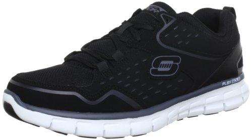 Skechers SynergyImmunity 51193, Sneaker uomo Nero (Schwarz (BKW))