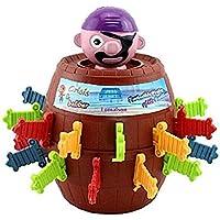 Vi.yo Juguetes Pirata del Barril Juguetes Extraños Tricky Pirata Barril Espada Juego Juguetes de Rompecabezas de Escritorio de los Niños