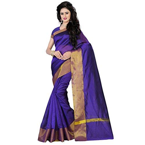SAREES (Cotton Silk With Blouse Piece_Sari)