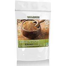 Naturseed Azucar De Coco - 100% Puro y Ecológico - 500gr - Apto Para Diabéticos Con Un IG 35 - El Edulcorante Más Sano y Nutritivo - Sin aditivos Ni Conservantes - Ebook Pdf De Regalo Con Recetas.