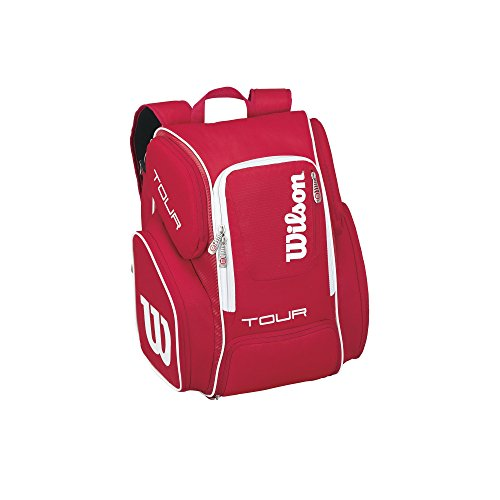 Wilson Tour V Backpack Large Rd, Mochila Unisex Adulto, Rojo (Red), 36x24x45 cm