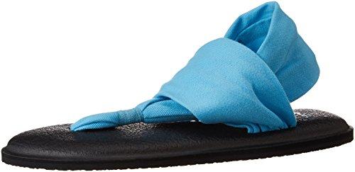 Sanuk Damen Yoga Sling#2 Zehentrenner Blue