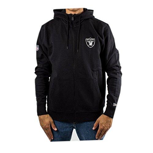New Era Herren Zip Hoodie NFL Team Oakland Raiders schwarz L