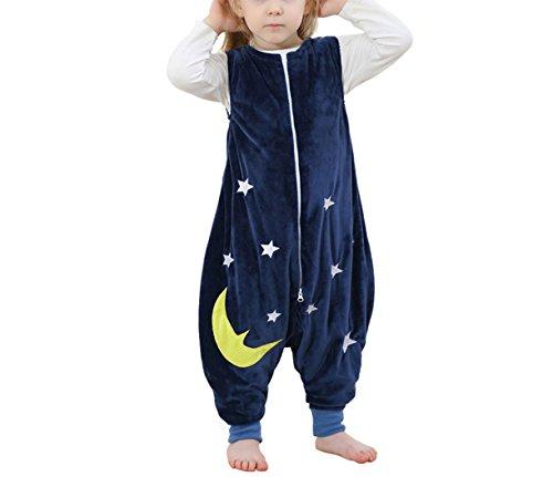 Kidslove Baby Schlafanzug Kinder Jumpsuits Overall Bauwolle Spielanzug nachtwäsche Unisex Schlafanzug Schlafsack Jungen Mädchen