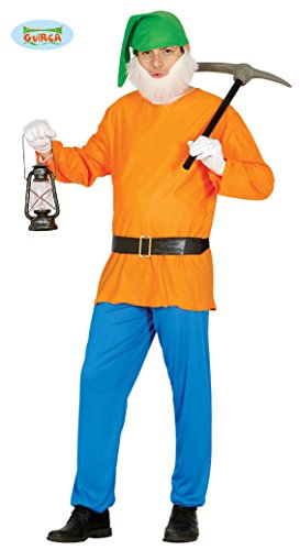 Zwerg - Kostüm für Herren Gr. M/L, (Erwachsene Zwerge Halloween 7 Für Kostüme)