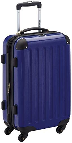Hauptstadtkoffer Alex Trolley rígido con cierre TSA, 42 litros, 55 x 35 x 20 cm, Azul oscuro