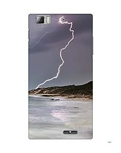 Mobifry Back case cover for Lenovo K900 Mobile (Printed design)
