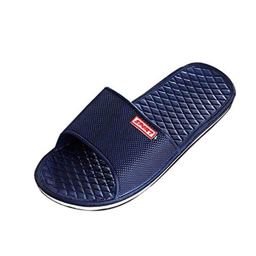 Amlaiworld ❤️Thongs Homme, Solide Pantoufles de Bain Plates Sandales d'été Pantoufles d'intérieur et d'extérieur
