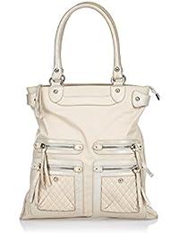 471bf1129cda SILVIO TOSSI Damen Tasche Handtasche Henkeltasche Schultertasche 42x32x12  cm (BxHxT)