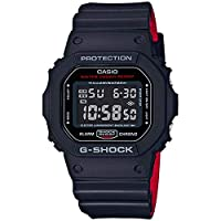 Casio G-Shock Watch For Men Black Dial Resin Band - DW-5600HR-1DR