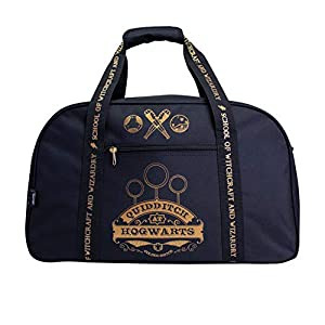 Harry Potter Gryffindor Quidditch en Hogwarts Black Duffle Bag