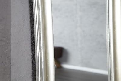 Außergewöhnlicher Spiegel SKINNY silber antik