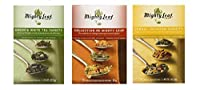 Mighty Leaf Tea Variety Pack (Pack of 3) 1 Mighty Leaf Green & White Tea Variety, 1 Mighty Leaf Tea Variety Collection , 1 Mighty Leaf Tea Herbal Infusion Variety