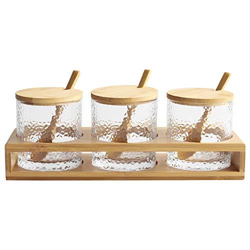 Picnic Table-Set Holztisch mit Gewürzhalter mini Salz- & Pfefferstreuer