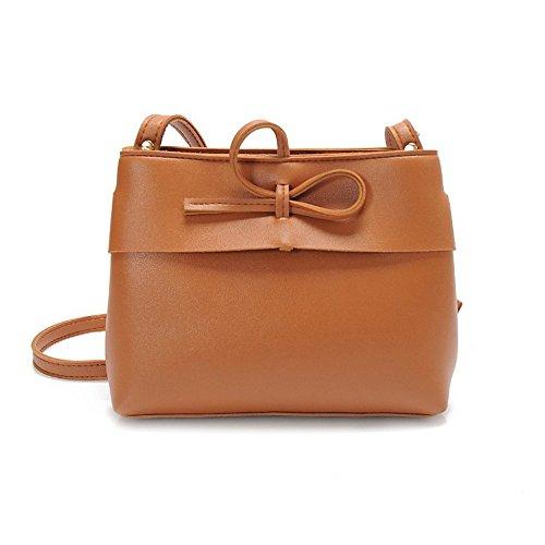 Longra Pure sacchetto di colore Shell Marrone