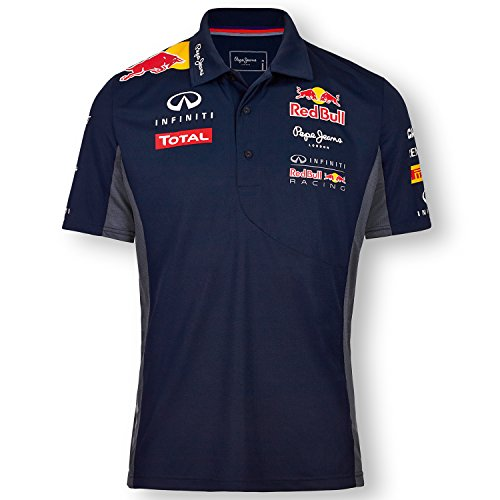 Pepe Red Bull Racing Collection - Polo - Manches courtes Homme - Bleu - X-Large