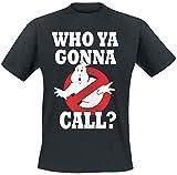 Ghostbusters Who You Gunna Call? T-Shirt schwarz L