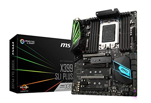 MSI Pro AMD ryzen threadripper DDR4 VR Listo HDMI