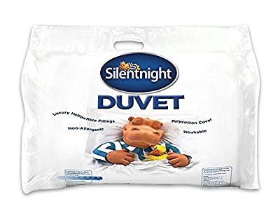 Silentnight Hollowfibre Duvet - inexpensive UK bedding store.