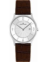 Alpha Saphir 335N - Reloj de pulsera analógico para hombre