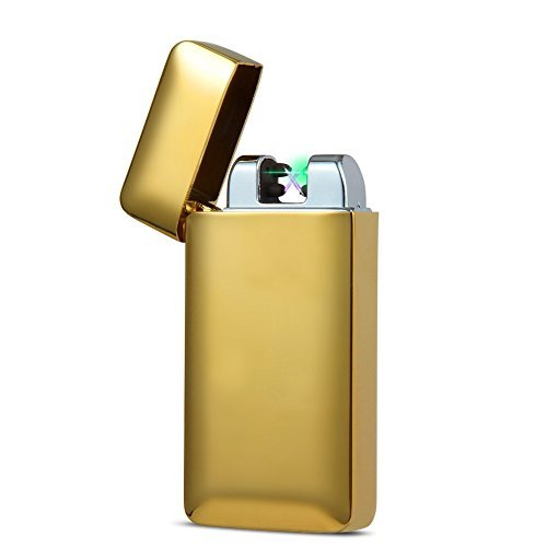 Padgene usb Lichtbogen Feuerzeug mit photoelektrischem Sensor (neues Produkt) (Gold)