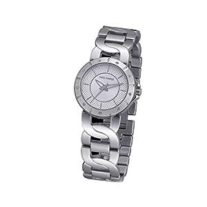 Time Force Reloj Analógico para Mujer de Cuarzo con Correa en Acero Inoxidable TF4000L02M de Time Force