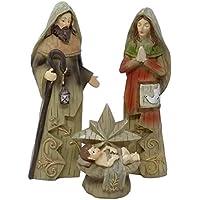 ToCi – XL Figuras de belén (25 cm) de la Sagrada Familia, Tradicional