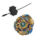 KESOTO 4D Kampfkreisel Set als Spielzeug Sammeln Geschenk und Mitgebsel, Gold + Blau